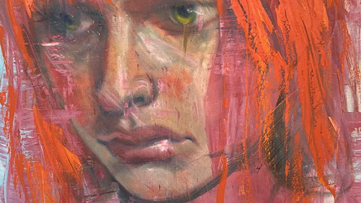 Lilo, obra de Niels Reyes en Galería Máxima