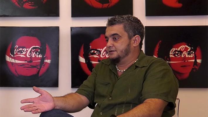 Agustín Hernández, en entrevista con Máxima Estudio Galería.