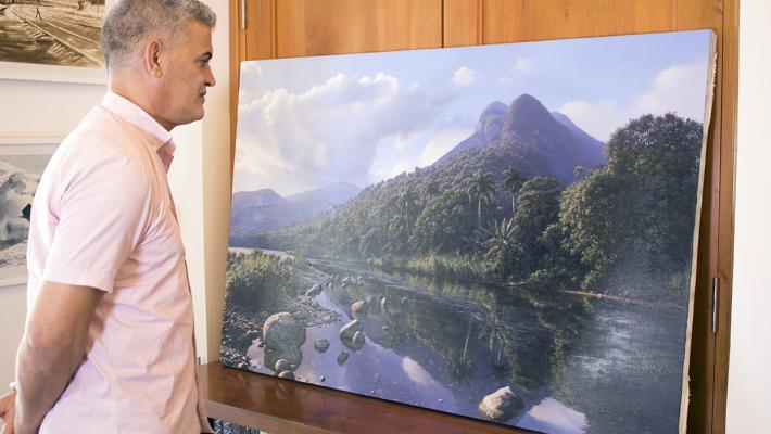 Ernesto Estévez en Galería Máxima