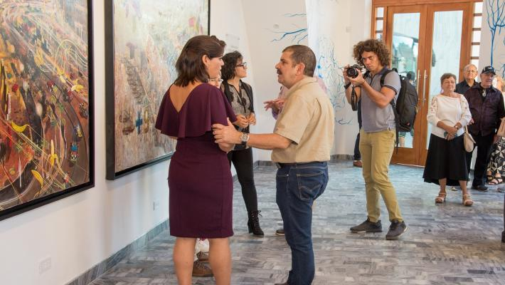 Moments of the opening of Maxima Gallery-Studio