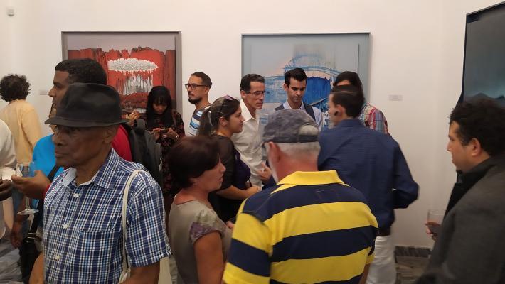 Exposición Contrapunto de Juan Suárez Blanco en Galería Máxima.