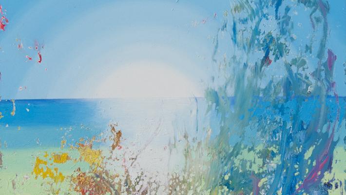 Alberto Lago. Another way live. 100 x 75 cm. óleo-lienzo.