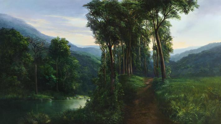 Ania Toledo-Camino al Isazu, Serie  vigencia del paisaje