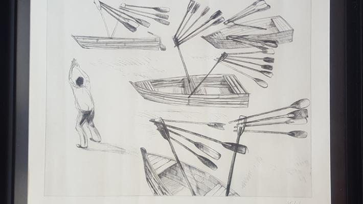 Alexis Leyva Machado (Kcho)-Barco con alas.