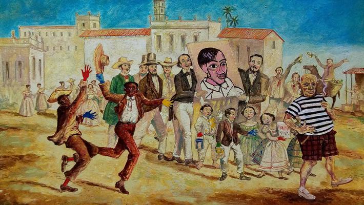 Douglas Pérez Castro-Los pintores.