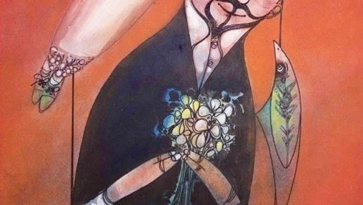 """Pedro Pablo Oliva, """"Flores para Eva""""."""