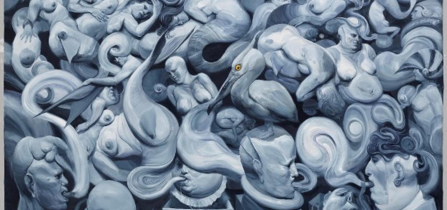 Roberto Fabelo, «Volutas,» 2015. Cortesía de Christie's.