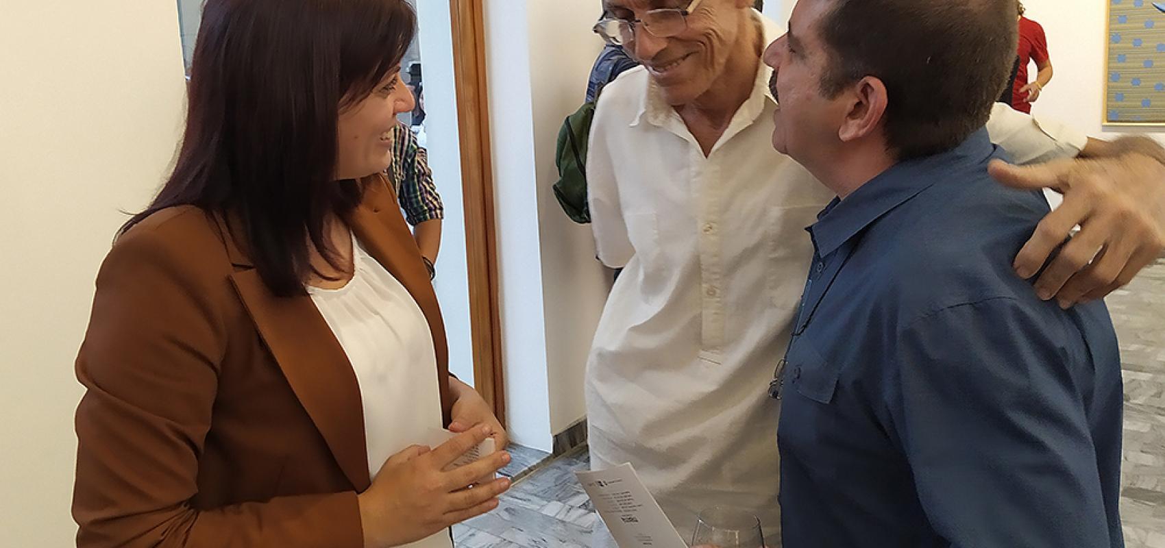 Yaiset Ramirez-Juan Suárez Blanco-David Mateo-Máxima Gallery-La Habana