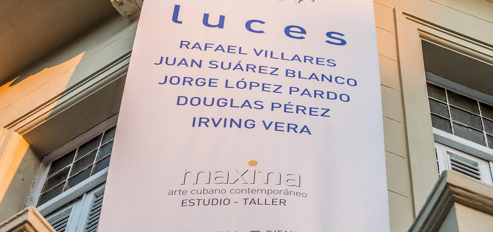 Lights, first exhibition in Maxima Gallery-Studio